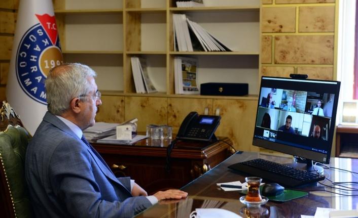 KSÜ'de YÖKAK 2021 İzleme Programı Kapsamında Toplantılar Gerçekleştirildi