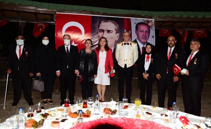 30 Ağustos Zafer Bayramı'nın 99.Yıldönümü Dolayısıyla Kabul Töreni Düzenlendi
