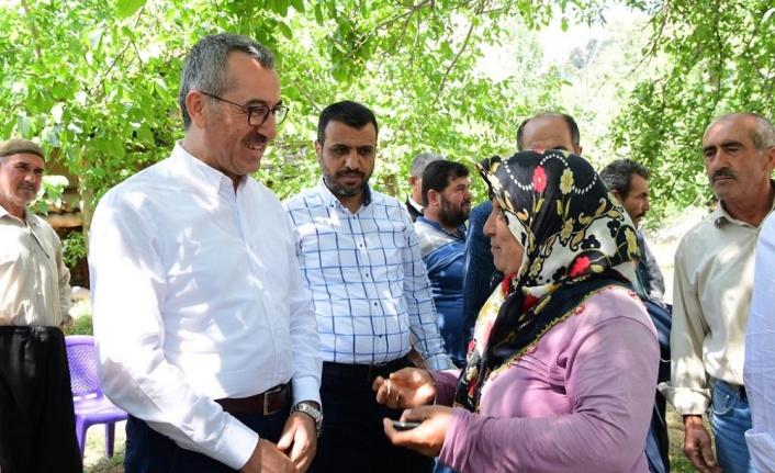 Başkan Güngör ziyaretlerine Onikişubat'ta devam etti…