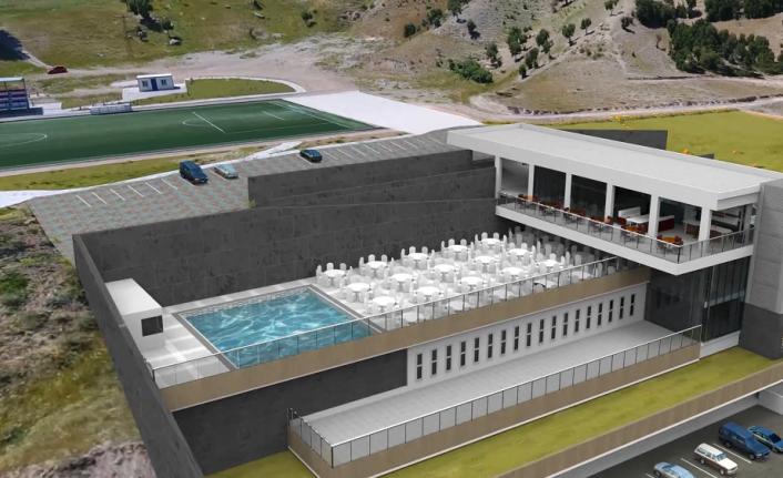 Doğukent Yüzme Spor Kompleksi İnşaatı Devam Ediyor