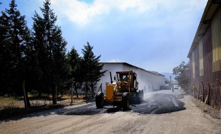Dulkadiroğlu'ndan Aksu Mahallesinde Asfalt Çalışması