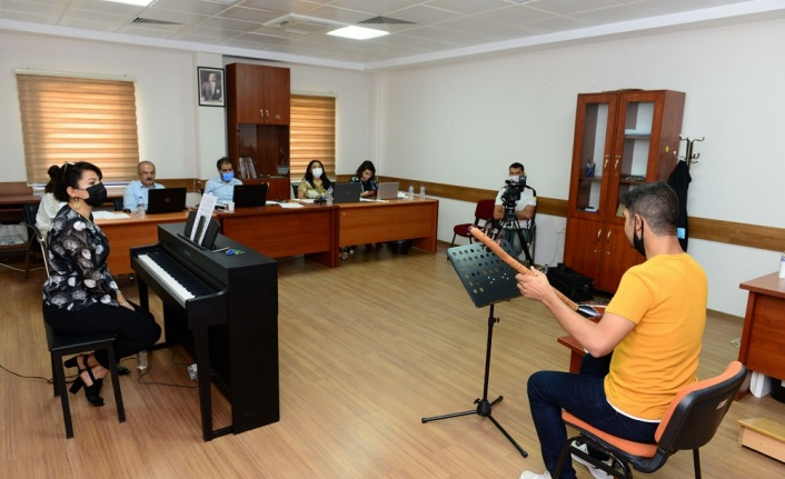 Güzel Sanatlar Fakültesi Müzik ve Resim Bölümleri Özel Yetenek Sınavları Tamamlandı