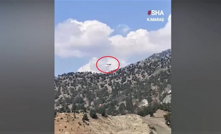 Kahramanmaraş'ta 8 kişinin hayatını kaybettiği uçak kazası kamerada