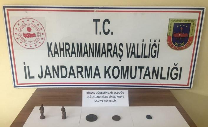 Kahramanmaraş'ta cebinden 'Bizans' dönemine ait tarihi eser çıktı