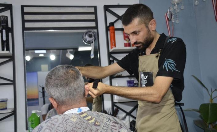 Kahramanmaraş'ta küçük esnaftan 'BÜYÜK' destek