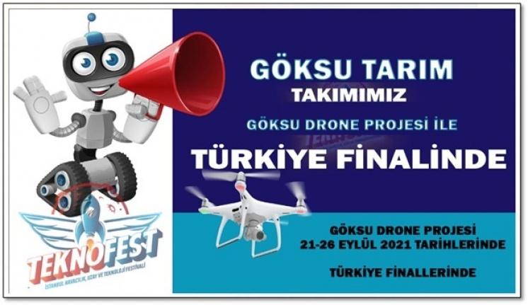 """Prof. Dr. Ahmet Alkan Danışmanlığındaki """"Göksu Tarım"""" İsimli Takım, TEKNOFEST Tarım Teknolojileri Üniversite Kategorisinde Finalist Oldu"""