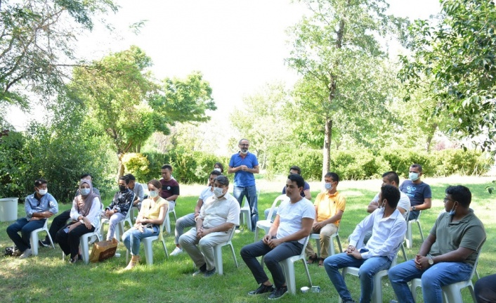 Rektör Prof. Dr. Niyazi Can, Uluslararası Öğrencilerle Bir Araya Geldi