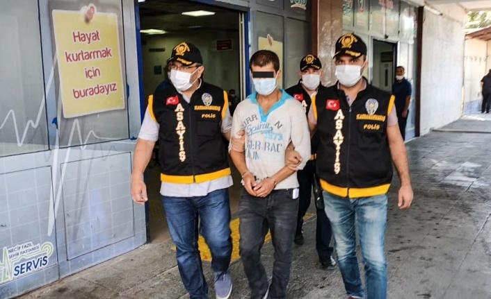 17 Yıl Hapis Cezası ile Aranan Şahıs Kahramanmaraş'ta Yakalandı