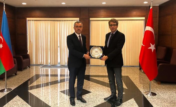 Başkan Güngör Kardeş Ülke Azerbaycan'da