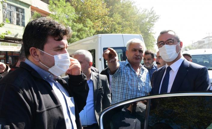 Başkan Güngör Köy Garajı'nda Esnafla Bir Araya Geldi