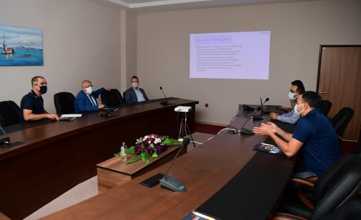 Başkan Mahçiçek, Teknokent'i Ziyaret Etti