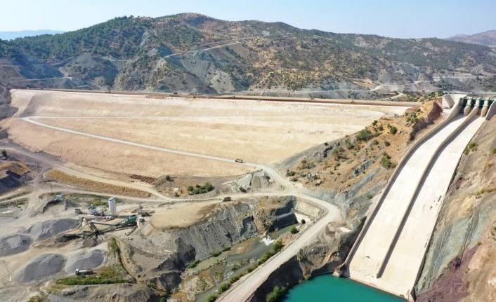 Çetintepe Barajı'nda çalışmalar sürüyor