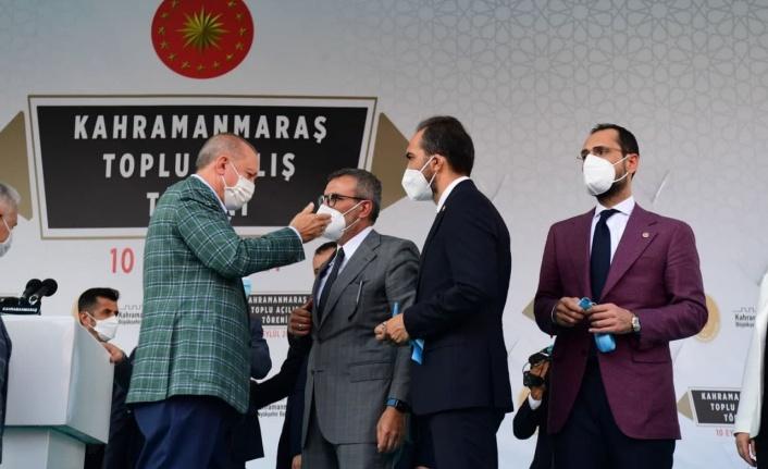 """Cumhurbaşkanı Erdoğan, """"19 yılda Kahramanmaraş'a 38 katrilyon lira yatırım yaptık"""""""