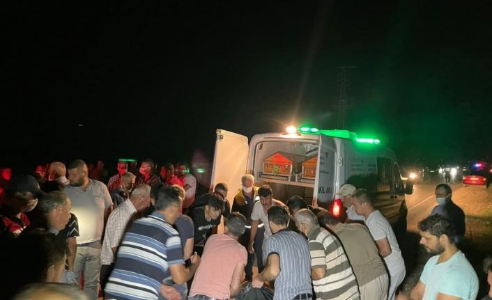 Elbistan'da otomobille çarpışan bisiklet sürücüsü öldü