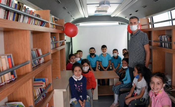 Gezici Kütüphane Pazarcık'ta…