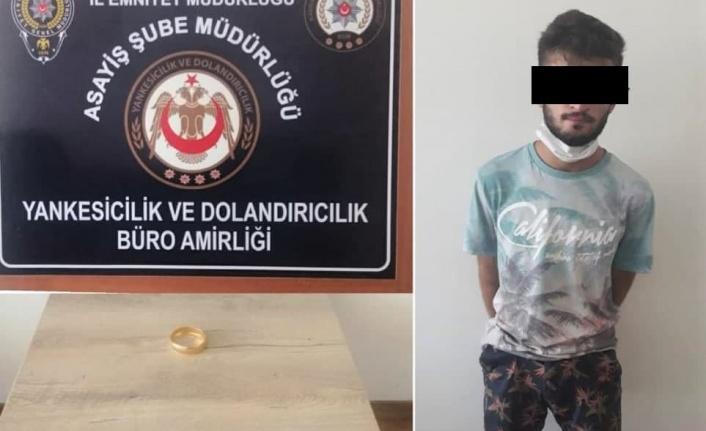 Kahramanmaraş'ta kuyumcuda kapkaç yapan şüpheli tutuklandı