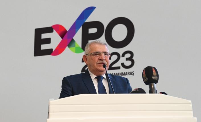 Onikişubat Belediyesi'nden Cumhuriyetimizin 100. Yılında Dev Proje EXPO 2023
