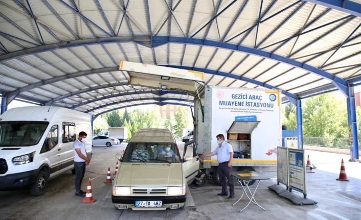 TÜVTÜRK Gezici İstasyonu Dulkadiroğlu'nda Hizmete Başladı