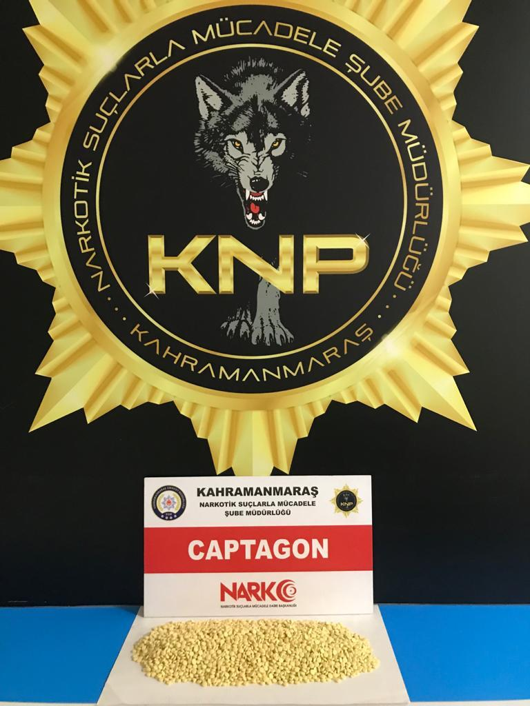 Kahramanmaraş'ta zehir taciri tutuklandı