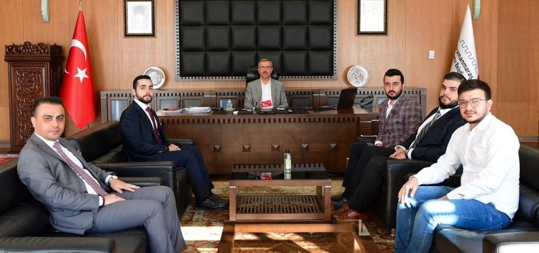 Genç Müsiad'dan Başkan Güngör'e Ziyaret!