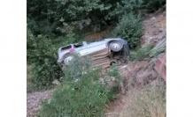 Kahramanmaraş'ta hafif ticari araç şarampole uçtu: 1 ölü 3 yaralı