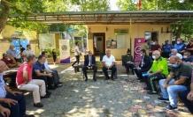 Müdür Cebeloğlu Mağralı'da mahalle halkıyla bir araya geldi