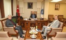 Rektör Prof. Dr. Niyazi Can, Rektör Prof. Dr. Sami Özgül İle Bir Araya Gelerek, üniversitelerarası İşbirliği Konularında İstişarelerde Bulundu