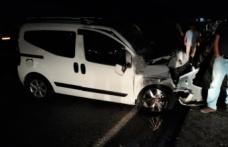 Pazarcık'ta zincirleme kaza: 1 ağır 2 yaralı