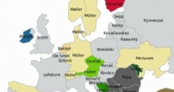 Türkiye ve Avrupa'da en çok kullanılan isim ve soyadlar
