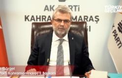 AK Parti İl Başkanı Görgel, 15 Temmuz mesajı yayınladı