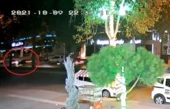 Kahramanmaraş'ta kaza anı kamerada