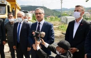 Başkan Güngör Andırın'da Yatırım Alanlarını...