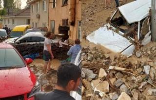 Bursa Kestel'de sel felaketi: 5 ölü 1 yaralı