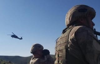 PKK'ya nefes yok! 3 terörist etkisiz hale getirildi