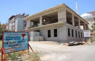 Selçuklu Taziye Evi inşaatı tamamlandı