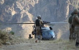Hakkari'de 'YILDIRIM-2 CİLO' Operasyonu...