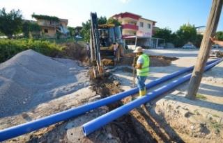 Hasancıklı-Kavlaklı altyapı deplase çalışmaları...