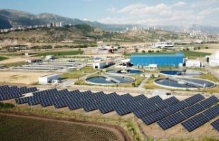 Kahramanmaraş atık su arıtma tesisine güneş enerjisi...