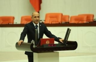 Öztunç, Çağlayancerit'in sulama sorunu meclis...