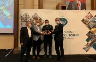 Tarih ve kültür şehri Dulkadiroğlu'na bir ödül...