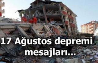 Kahramanmaraş milletvekillerinden Marmara Depremi...