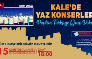 Kale'de Yaz Konserleri Devam Ediyor