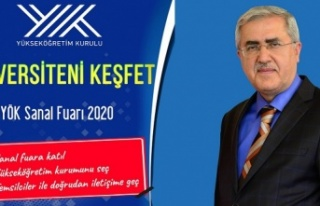 """KSÜ, """"Üniversiteni Keşfet YÖK Sanal Fuarı 2020""""de..."""