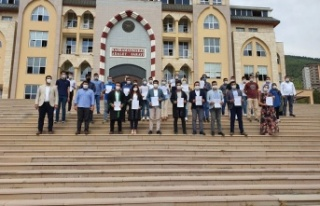 AK Parti Kahramanmaraş Gençlik Kolları'ndan basın...