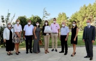 Büyükelçiden Kipaş Holding'e Ziyaret
