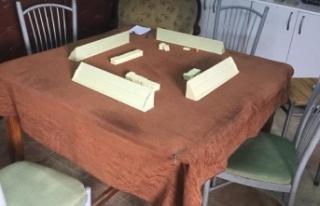 Kahramanmaraş'ta oyun salonuna çevrilen daireye...