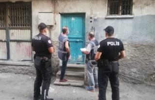 Kahramanmaraş'ta polis, aranan 27 şüpheliyi...