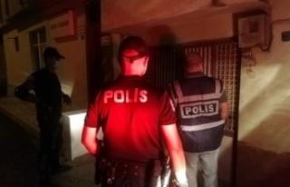 Kahramanmaraş'ta polis, aranan 63 şüpheliyi...