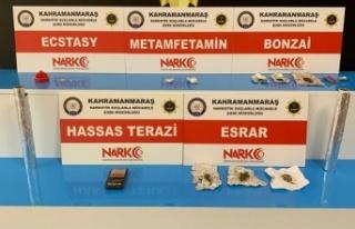 Kahramanmaraş'ta Uyuşturucu taciri 4 kişi...