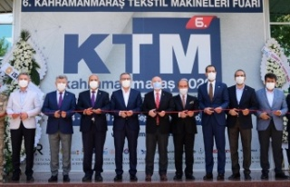 Kahramanmaraş Tekstil Makineleri Fuarı Açıldı